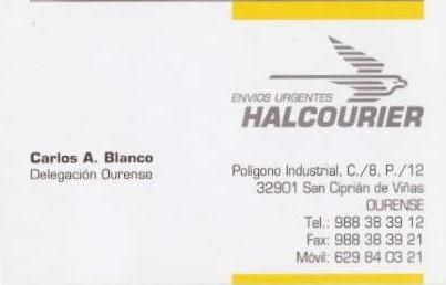 Auria express sl halcourier nete ou for Oficinas halcourier